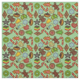 Christmas Cookies Fabric