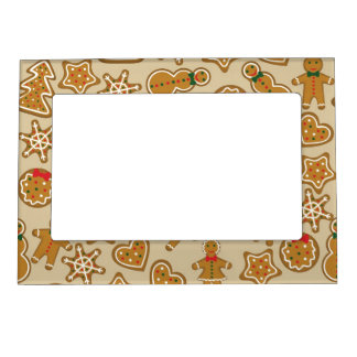Christmas Cookies Magnetic Picture Frame