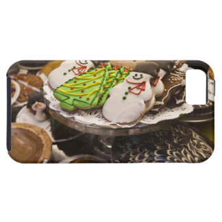 Christmas cookies on display in a New York city iPhone 5 Case