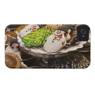 Christmas cookies on display in a New York city Blackberry Bold Cover