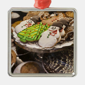 Christmas cookies on display in a New York city Christmas Tree Ornament
