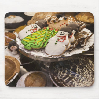 Christmas cookies on display in a New York city Mouse Pad