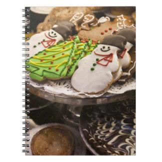 Christmas cookies on display in a New York city Note Books