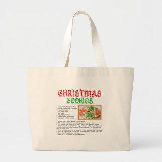 Christmas Cookies Recipe Bag