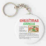 Christmas Cookies Recipe Key Chains