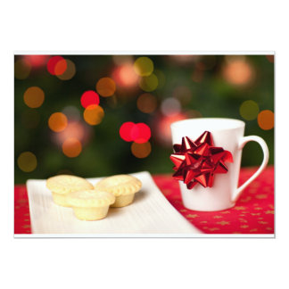 Christmas Cooking and Goodies 13 Cm X 18 Cm Invitation Card
