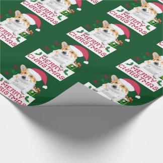 Christmas Corgi Wrapping Paper