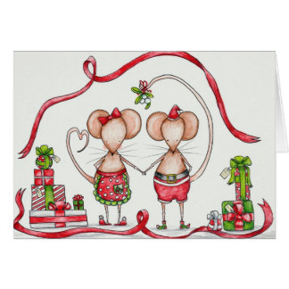 Christmas Couple Card