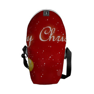 Christmas Courier Bag