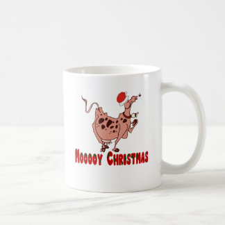 Christmas Cow Gifts T-shirts Mugs Tote Bags