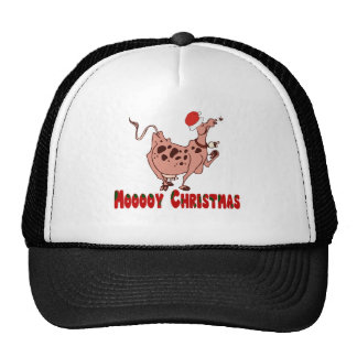 Christmas Cow Gifts T-shirts Mugs Tote Bags Hats