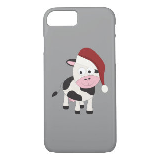 Christmas cow iPhone 7 case