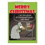 Christmas Cow-ral Greeting Card