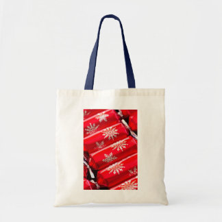 Christmas crackers tote bags