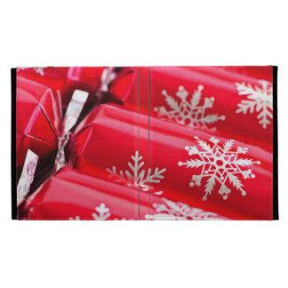 Christmas crackers iPad case