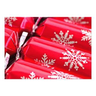 Christmas crackers custom announcements