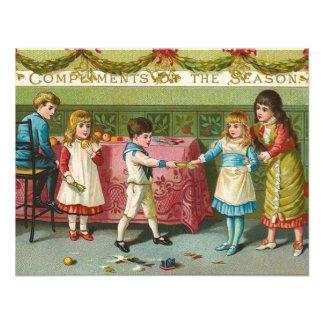 Christmas Crackers Custom Invitations