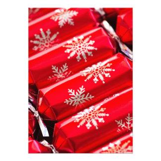 Christmas crackers invitations