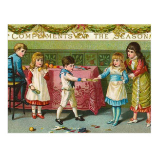 Christmas Crackers Postcard