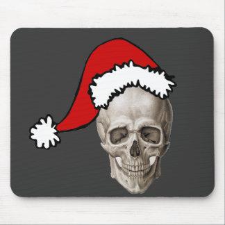 Christmas Cranium Mouse Pad