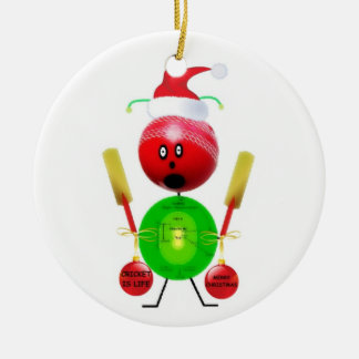 Christmas Cricket Ornament