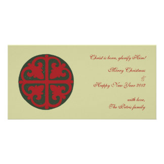 Christmas Cross Personalized Photo Card