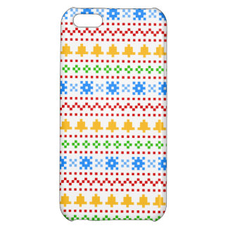 'Christmas Cross-Stitch In Colour #1' iPhone 5C Case