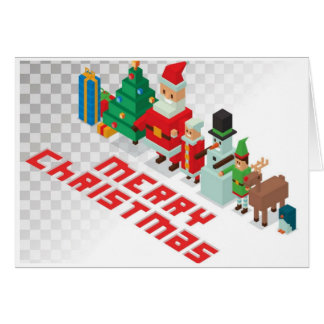 Christmas - Crossy Christmas Card