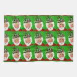 Christmas Crown Tea Towel