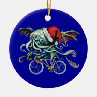 Christmas Cthulhu Christmas Ornament