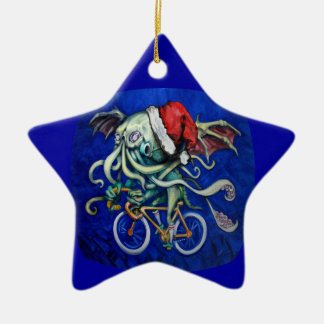 Christmas Cthulhu Christmas Ornament