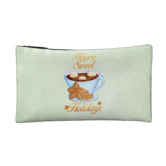 Christmas Cup of Hot Choco Cosmetic Bag