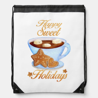 Christmas Cup of Hot Choco Backpack