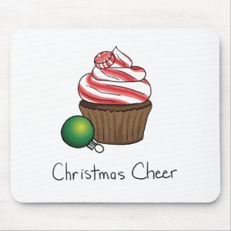 Christmas Cupcake Mouse Mat