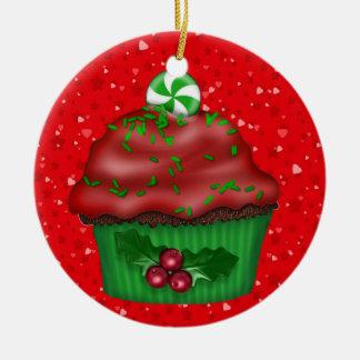Christmas Cupcake - SRF Christmas Ornament