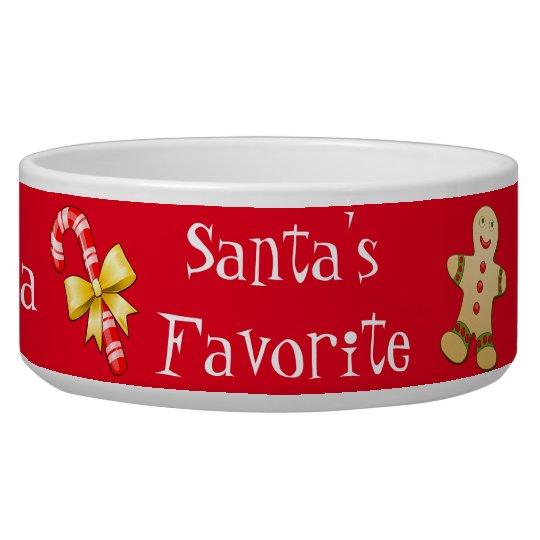 Christmas Custom Pet Bowl