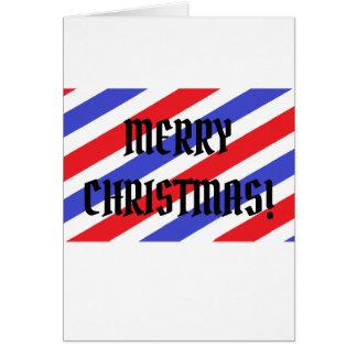CHRISTMAS CUT (CARD) CARD