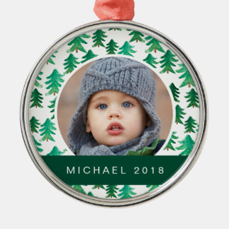 Christmas | Cute Christmas Tree Pattern Christmas Ornament