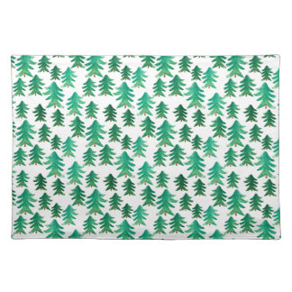 Christmas | Cute Christmas Tree Pattern Placemat