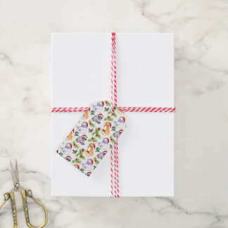 Christmas | Cute Forest Animals Pattern Gift Tags