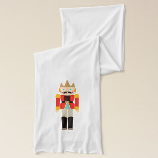 Christmas Cute Nutcracker Soldiers Scarf