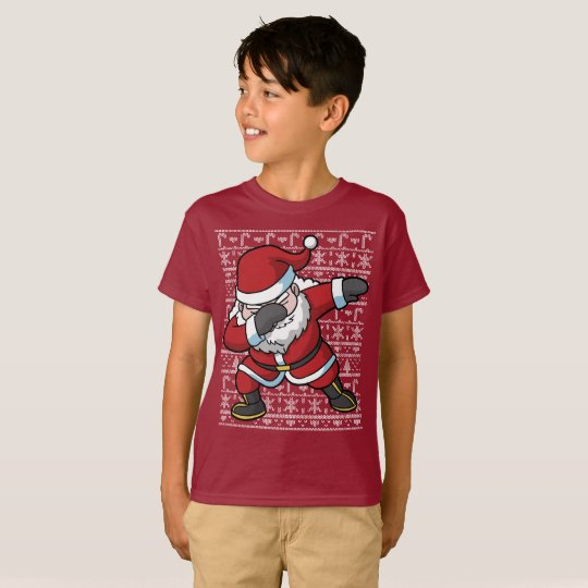 Christmas Dabbing Santa Clause Dab T-Shirt