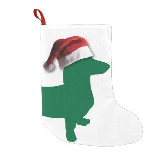 Christmas Dachshund Small Christmas Stocking