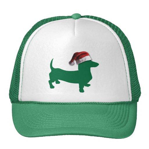 Christmas Dachshunds Trucker Hat