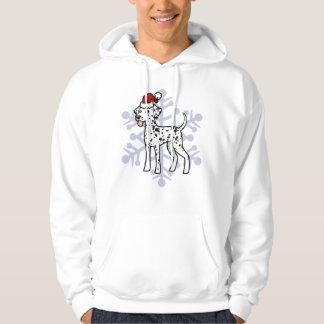 Christmas Dalmatian Hoodie