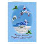 Christmas, Daughter and Son-in-law, Blue Bird and