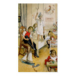 Christmas Day in the Nursery 1894 Business Card Templates