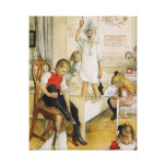 Christmas Day in the Nursery Canvas Print
