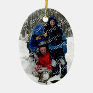 Christmas Day Photo Keepsake Christmas Ornament