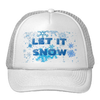 Christmas Day Snowfall Cap